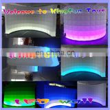 2014 LED party air wall/inflatable background wall for decoration