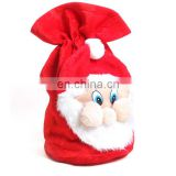2017 Christmas gift Large Santa Claus Backpack ,Christmas stocking bags with holding hand