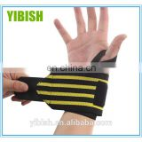 High quality Premium weight lifting wrist support wraps#HW0001