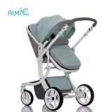 Classic high-view folding baby stroller