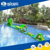 Giant Water Obstacle Game Inflatable Floating Water Park For Sale