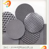China suppliers top grade customer requirements perforated wire mesh
