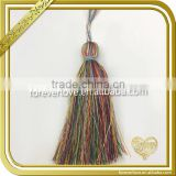 Mix color tassel trimmings fringe curtain decoration brush tassel FT-036