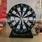 Different szie/color inflatable dart board free air blower inflatable target ball for sale