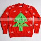 knitted christmas sweater cute christmas tree christmas sweater for girls