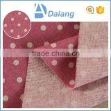 wholesale multicolor cheap calico printed cotton polyester spandex linen fabric for shirt