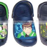 2013 eva pvc kids sandals flashing shoes lighting shoes