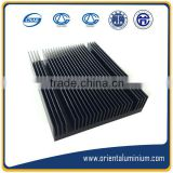 Aluminum profile extrusion square heatsink /Aluminium profile square heatsink manufacture