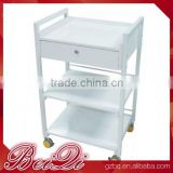 Beiqi Hot Sale Hair Salon Station Manicure/Pedicure/Facial Trolley Beauty Salon Equipment Tool Trolley Carts