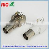 Right Angle PCB Mount Screw BNC Female Connector for CCTV Camera                                                                         Quality Choice