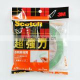 3M DOUBLE SIDED TAPE MADE IN JAPAN WITH SUPER ADHESIVE USED FOR METAL AND PLASTIC AND GLASS.