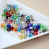 2016 top AAA quality 3/4mm bicone beads jewelry beads clear color loose beads 720/pack glass beads