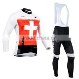 2016 new style hotsale sport wear merino wool cycling jersey with factory price wholesale