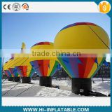 Air blown Ground Balloon Inflatable with bright color for Advertising