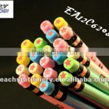 2013 promotional HB pearly pencil with eraser in bulk