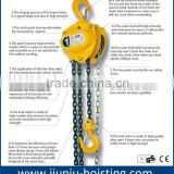 trade assurance manufacturer for best quality 1 ton manual chain pulley block
