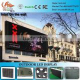 RGX video wall led display, P10mm led display with , outdoor video led display with pillar
