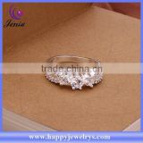 INquiry about New fashion jewelry cheap price hot selling white zircon 925 silver plated jewelry ring ( CR398)
