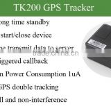 tk200 handheld gps easy install car tracker vehicle tracking system with long battery life