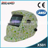 Riland High Qiality Special welder mask automatic welding helmet grinding helmet (CE & ANSI Approved)