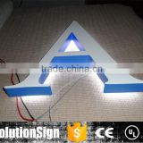 outdoor 3D backlit sign board letters