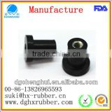 Laminated Butyl Rubber Stopper with brass insert,anti-shock,protection,metal and rubber strong connection