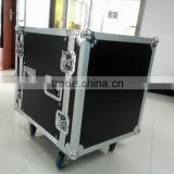 aluminum rack flight case for pro amplifier