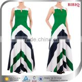 green and white stripes dress pastel chevron maxi maternity dress western plus size color block evening dresses                                                                         Quality Choice