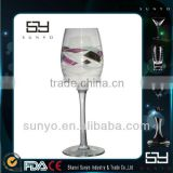 High-end Crystal Personalized Fancy Wine Glass /Wholesale Glassware