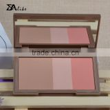 Wholesale make up pressed powder cheek eyeshadow blush makeup palette