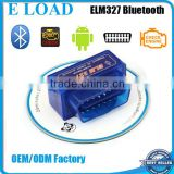 MINI ELM327 Bluetooth OBDII ODB2 Diagnostic Interface Scanner , Elm 327 Bluetooth Car Scan Tool For Multi-Brands Vehicle
