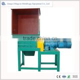 Fully automatic double or four shaft used tire shredder machine for sale