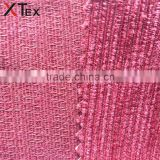 many colors 280gsm weight 145cm width jacquard chenille upholstery sofa fabric from China factory