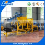 WANTE MACHINERY QT4-18 fully automatic earth soil hollow block and paver moulding machine