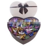 Paper Crafts Origami Paper Greeting Fold Paper Craft Figure Cranes Paper Design                                                                         Quality Choice