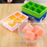 Summer Season Hot selling Square shaped Silicone ice Cube molds