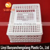 plastic transportation cage for transport chicken duck birds cails quail pigeon rabbit turkey