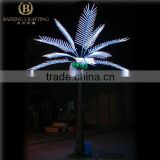 2016 New 4m Artificial Outdoor Decoration LED Coconut Tree lights