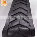Hot-vulcanized conveyor belt for milling machine