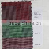 best selling brands 100% cotton colorful check design fabric for italian shirt fabric