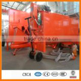 foam concrete machine with foam generator, mixer, hydraulic pump, good for roofing insulation