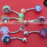 Body Piercing Jewelry,Acrylic Belly Button Rings