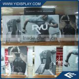 Vivid High Impact 100% Polyester Full Color Modular Outdoor Exhibition Booth Design And Build Up