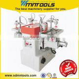 Double wood mortising machine