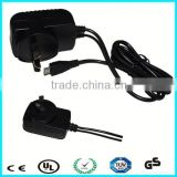 Europe uk ac dc 5v 1a power adapter with TUV certified