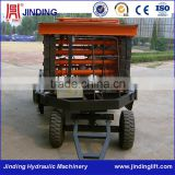 4 wheels drawn movable hydraulic machinery construction small lifting equipment                                                                         Quality Choice