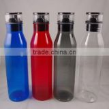 750 ml tritan plastic drinking bottle, plastic water bottle BPA free