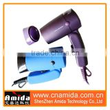 Amida Professional Mini Foldable 2 Speeds Setting Life-ling DC Motor Western Hair Dryer, a hair dryer