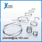 316 stainless steel wave spring and spacer for cr2032 Shaped wave spring product manufacture