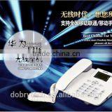 New Huawei F316 GSM wireless desk telephone,GSM FWP, table phone with FM radio and button backlight 850/900/1800/1900MHZ